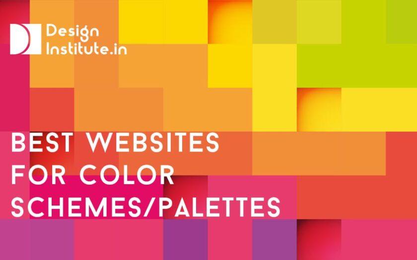 Best websites for Color schemes Color palettes