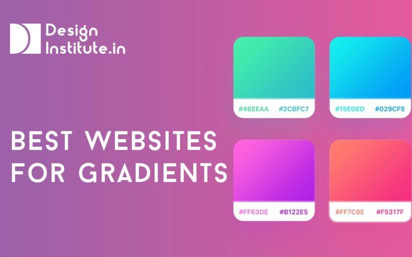 Best websites for Gradients
