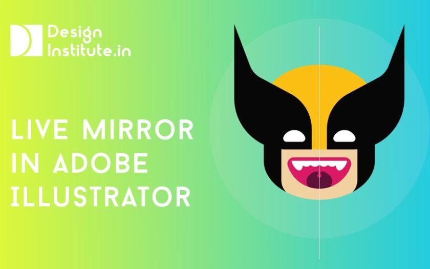 Live Mirror in Adobe Illustrator